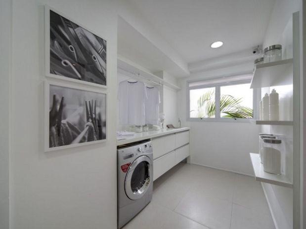 decoracao de interiores area de servico:Veja 10 projetos decorativos para a área de serviços