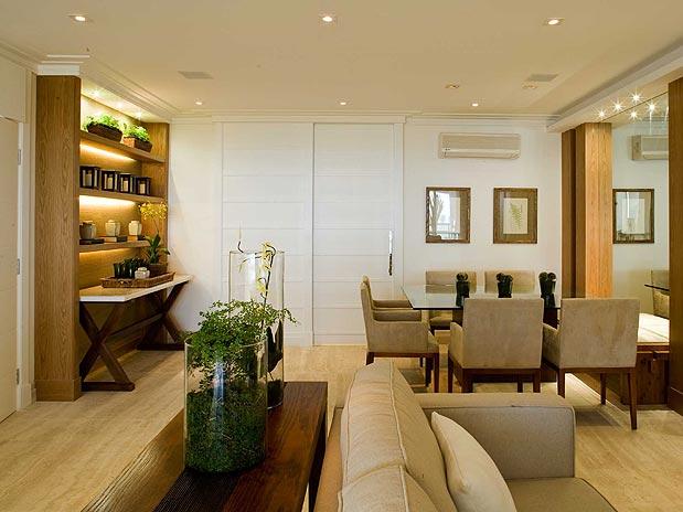 Sala Pequena Decorada Espelho ~ Confira mais de 35 ideias para decorar a sala com requinte  É com