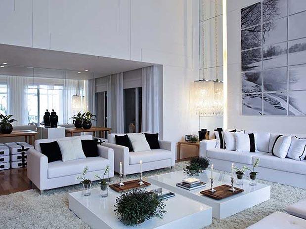 Sala De Estar Mais Tv ~ Confira mais de 35 ideias para decorar a sala com requinte  É com
