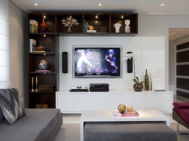 Sala Pequena Com Nicho ~ sala projetada pelo arquiteto Marcelo Rosset Além disso, os nichos