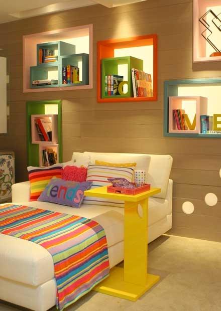 Decoracao Quarto Infantil Londrina ~ 230 os nichos para guardar objetos do quarto da menina